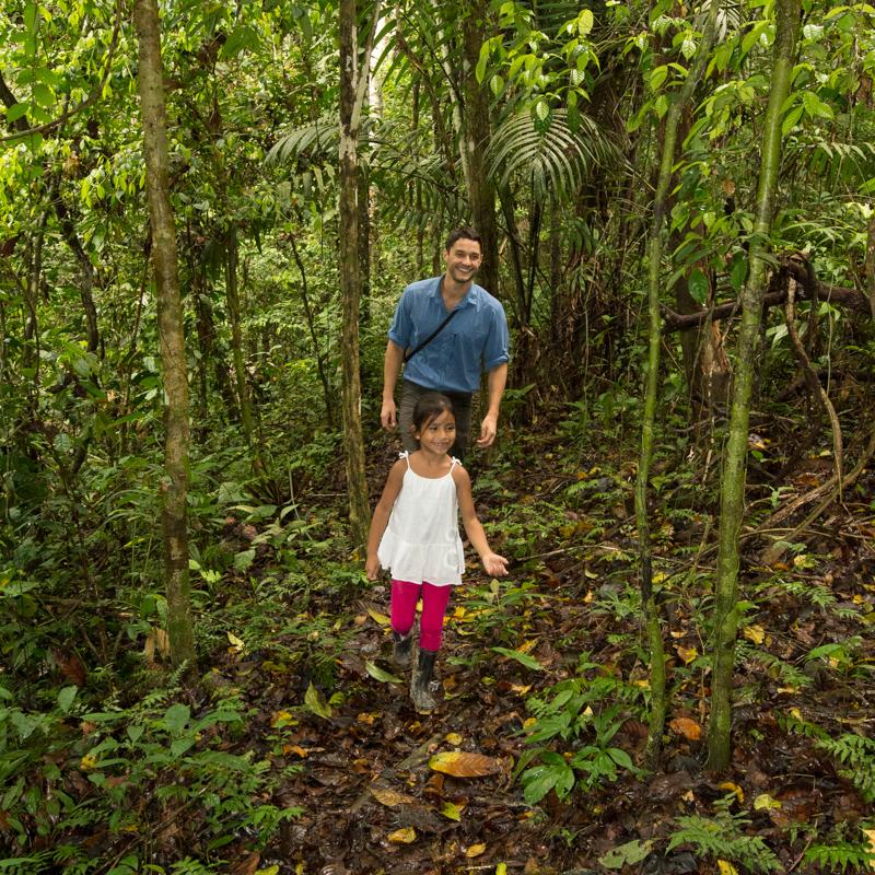 people, rainforest