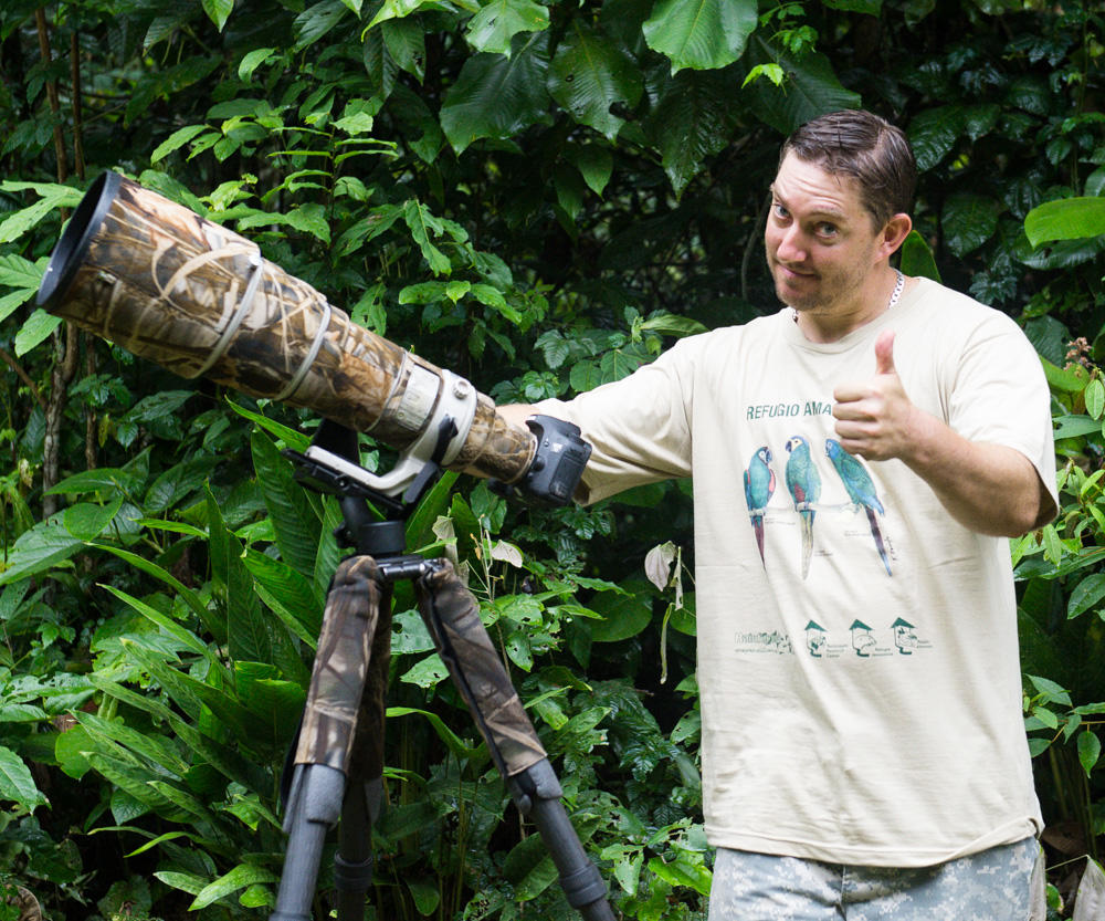 Jeff Cremer Wildlife Photographer Peruvian Rainforest Journey EdTechLens