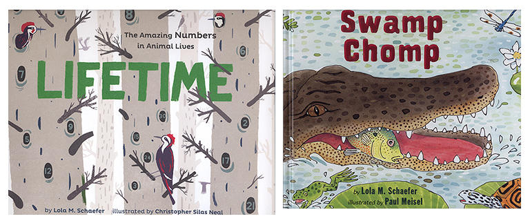 Books Integrate Language Arts, Science Math Lifetime Swamp Chomp