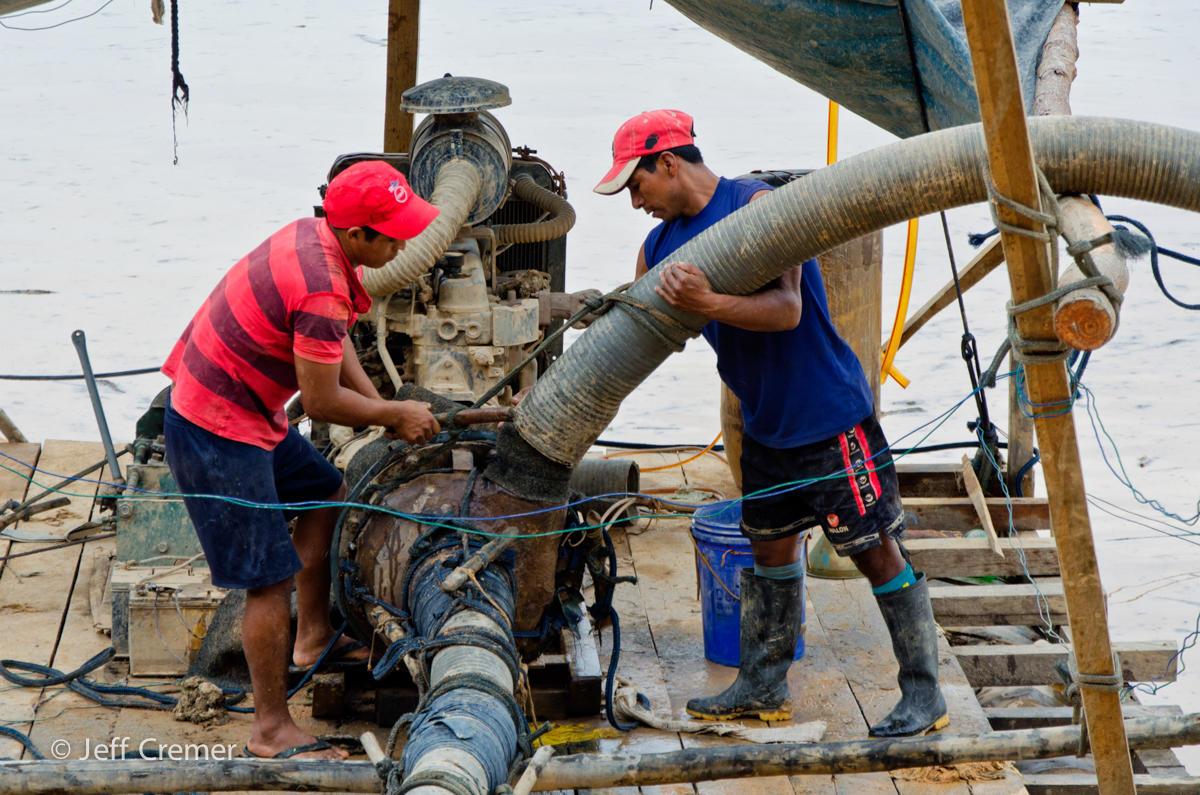 Gold Mining Rainforest Peru EdTechLens