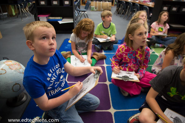 Attentive children Five Reasons for Theme-Based Learning